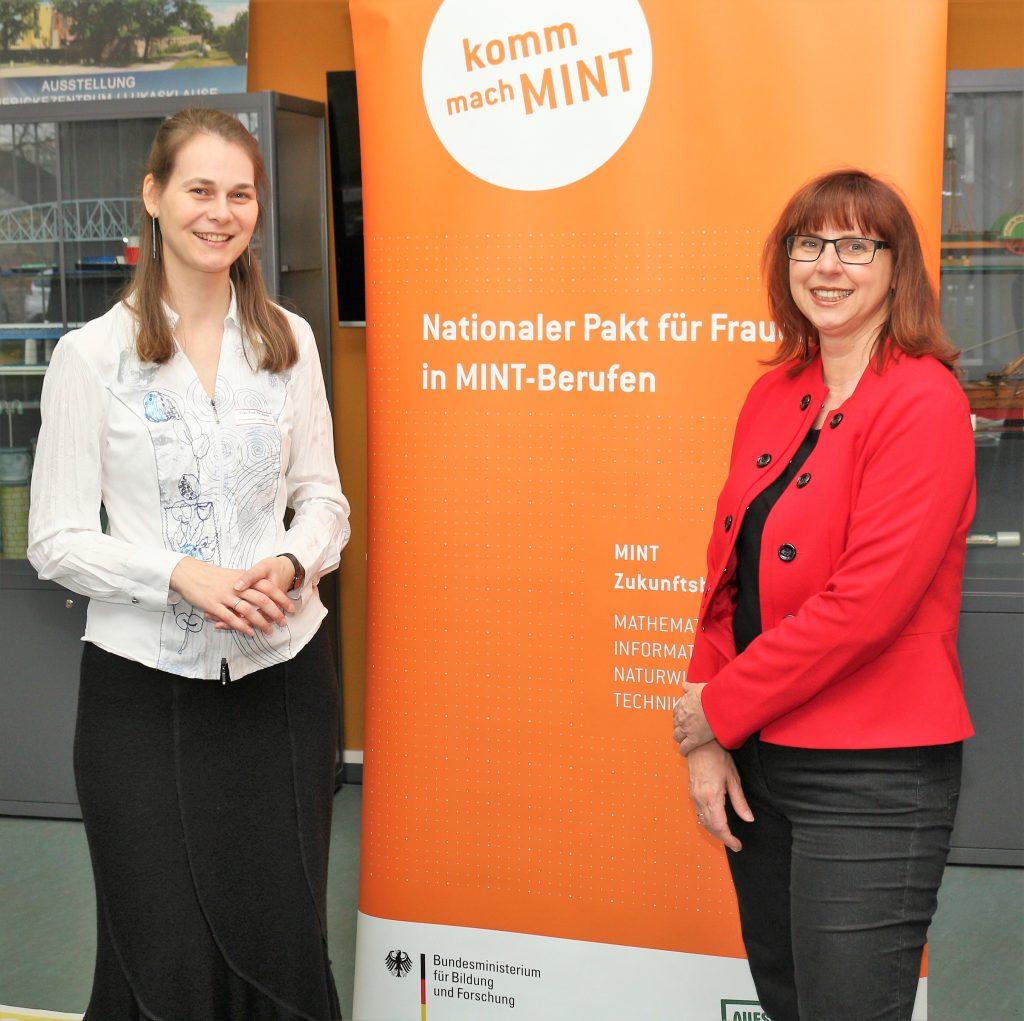 Projektleiterin Prof. Dr. Korinna Bade und Karin Lühmann vom Kompetenzzentrum Bielefeld, Foto: Dr. Tobias Scheidat