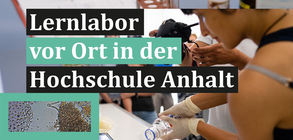Lernlabor vor Ort in der Hochschule Anhalt