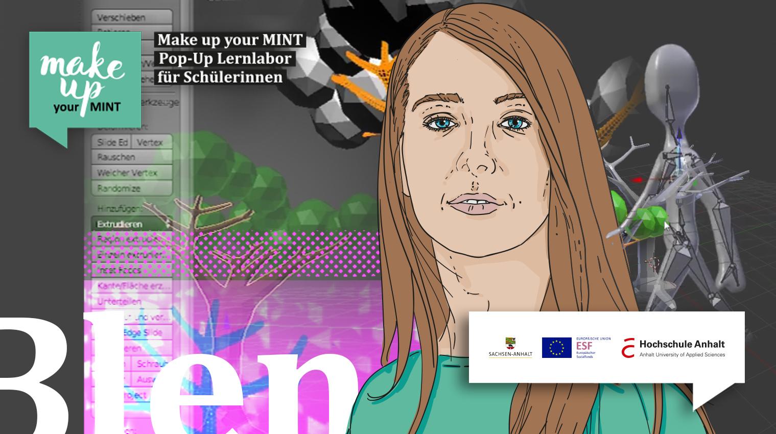 """Kurs 1: """"Wundersame 3D-Welten mit Blender"""""""